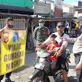 Subang Siaga Covid, Piket Pungsi Polsek Ciasem Sosialisasikan PPKM Mikro