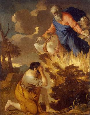 Sébastien Bourdon - Moses and the Burning Bush
