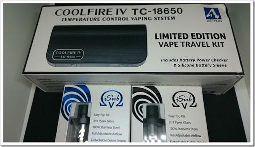 DSC 2431 thumb%25255B2%25255D - 【MOD】Innokin CoolFire IV TC-18650&iSUB Vクリアロマイザーレビュー!【同社初18650MODキット】