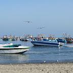 Paracas - Uferpromenade des Stranddorfes El Chaco