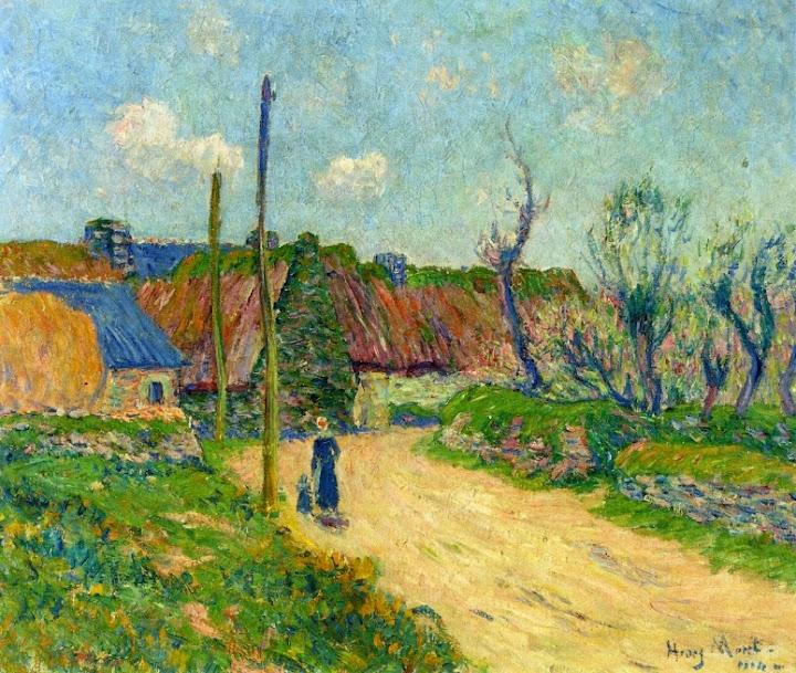 Henry Moret - A Farm, 1914