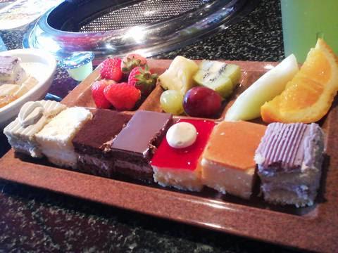 ケーキ・フルーツ2 あみやき亭神守店