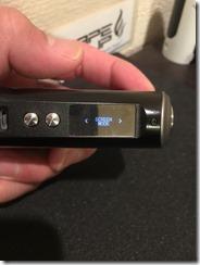 IMG 8721 thumb2 - 【見た目重視!ステルス系フルメタルMOD】「Rofvape Witcher Box Mod 75W TC(ロフベイプ・ウィッチャー)」【レビュー】~これじゃなきゃダメなの(*'∀'*)?編~