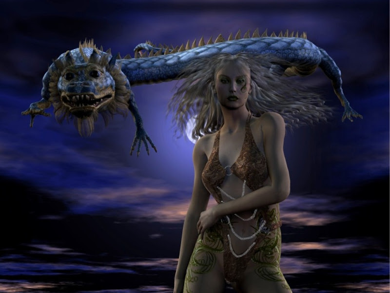 Help Of Dragon, Dragons
