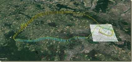 Map Trace GPS globale