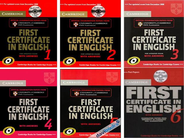 Cambridge First Certificate Book