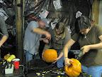 More pumpkin goring.