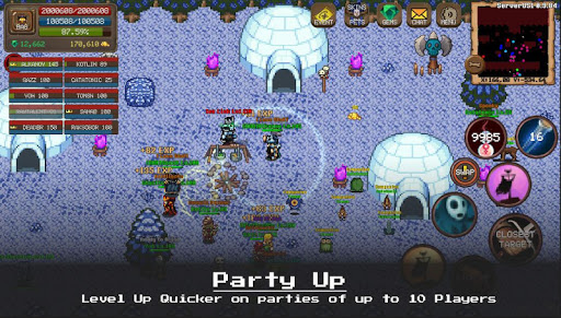 MMORPG Laurum Online - RPG - Pixel MMO - PVP apkdebit screenshots 8