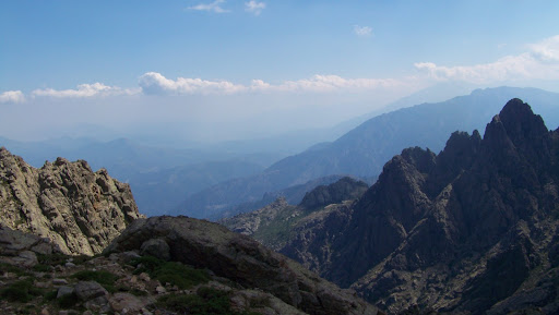 Le col au-dessus du vallon de Terrivola