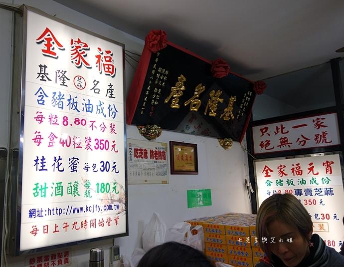 6 基隆美食 全家福元宵、孝三路大腸圈、長腳麵食、廖媽媽珍珠奶茶專賣舖、手工碳烤吉古拉