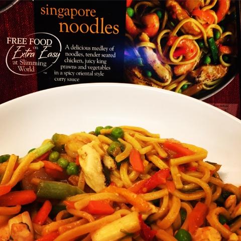 Ginjabird Slimming World Iceland Singapore Noodles