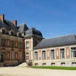 Château de Courson : cour