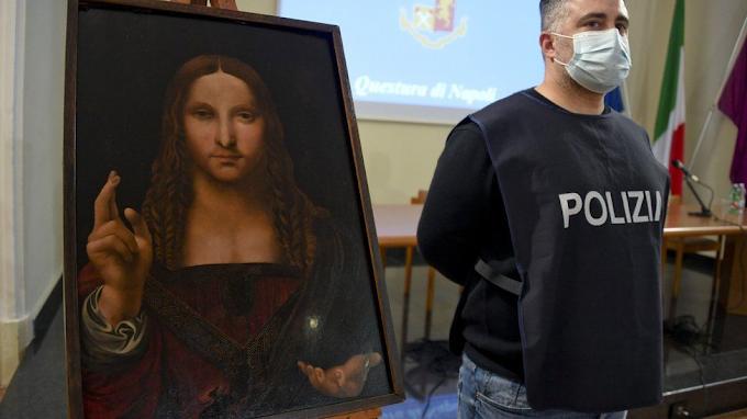 Police Find 500-year-old Stolen Copy Of Leonardo da Vinci's 'Salvator Mundi', The World's Most Expensive Painting