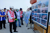Tinjau Progres Pembangunan Pelabuhan Internasional Patimban, Menhub RI, Budi Karya Kembali Berkunjung Ke Subang