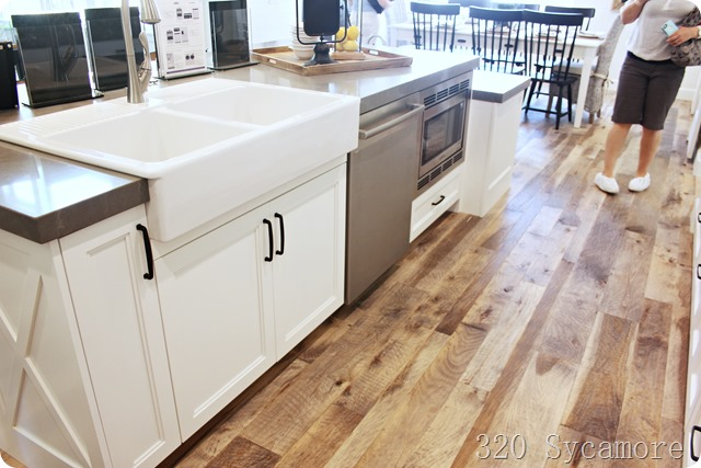 fixer upper kitchen island