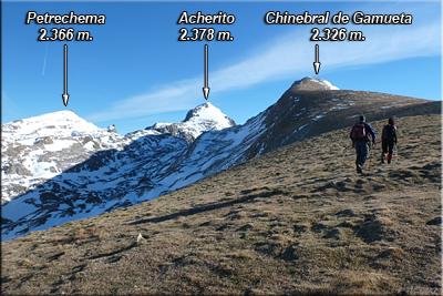 Continuamos el ascenso hacia la cima de Chinebral