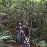 More loop trail work
