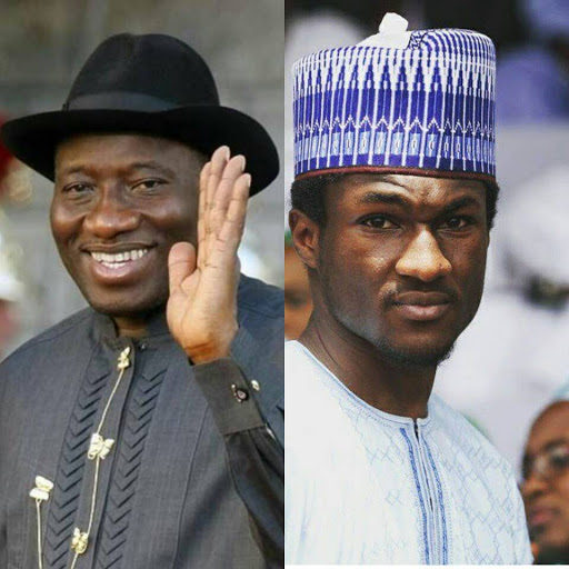 Yusuf Buhari: Nigerians react to Goodluck Jonathan's message to the First Son