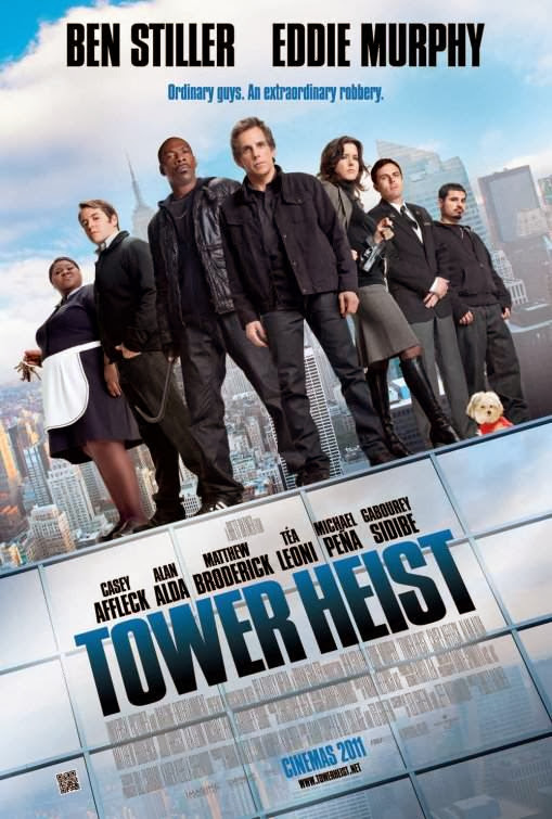 Poster Of Tower Heist (2011) Full Movie Hindi Dubbed Free Download Watch Online At Alldownloads4u.Com