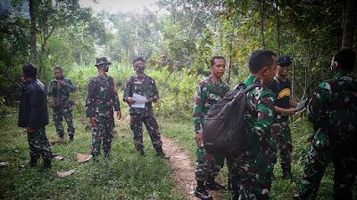 Peninjauan Medan Latihan oleh Tim Korem 072/Pmk di Girimulyo Kulon Progo