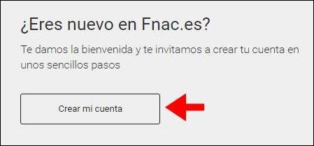 Abrir mi cuenta FNAC - 637