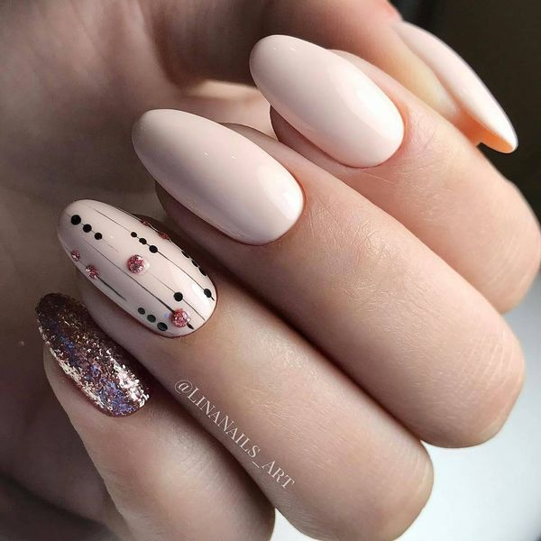 Beige Nail Designs Ideas