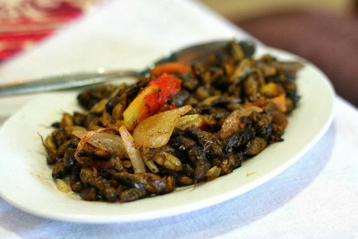 Exotic Cuisine Food Pampanga Crickets Kamaru