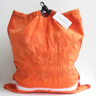 Calvin Klein 205W39NYC Oversized Safety Orange Tote