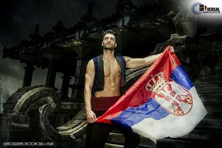 Aleksa Gavrilovic - Mister Universal Ambassador 2016