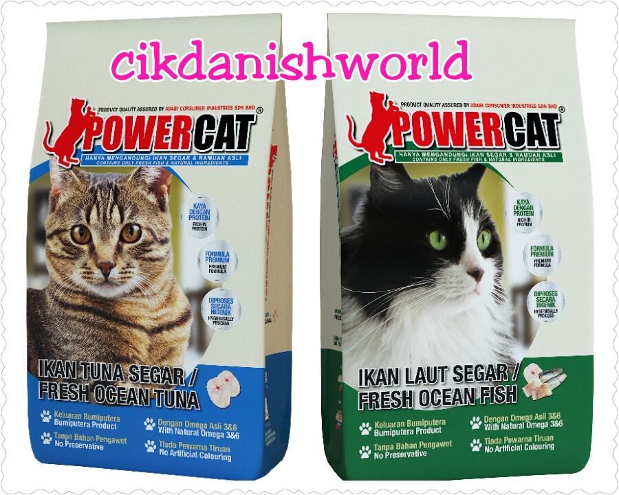 Cik Danish World Powercat Makanan Kucing