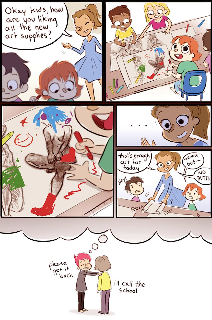 Preschool drawings