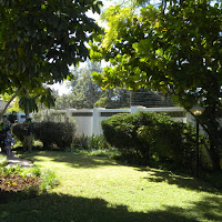 The grounds of the Ambassador