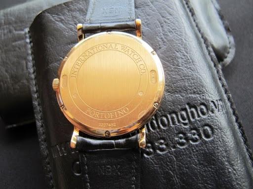 Bán đồng hồ Iwc Portofino – vàng hồng 18k – automatic – size 39 – dây da