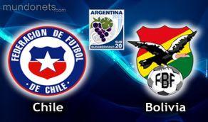Chile Bolivia vivo online sub20 Horarios 11 enero