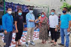 Bantu Warga di Masa PPKM Darurat, DPK KNPI Medan Area Qurban 20 Ekor Kambing