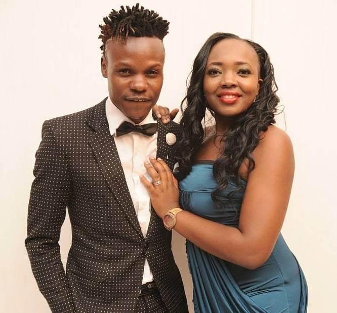 Kenyan Gospel rapper Eko Dydda with his wife slyvia
