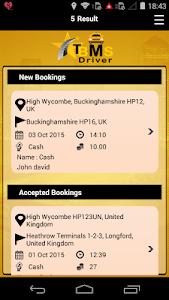 TBMS Driver dispatch software screenshot 2