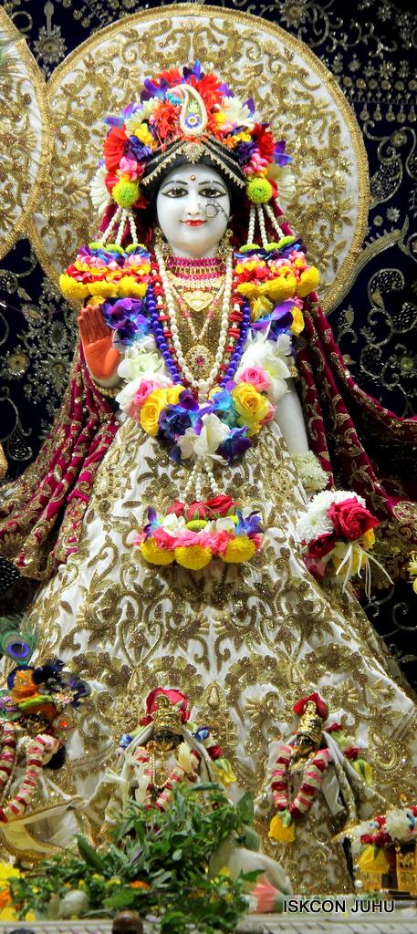 ISKCON Juhu Sringar Deity Darshan on 24th Oct 2016 (5)