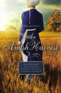 An Amish Harvest by Beth Wiseman, Amy Clipston, Kathleen Fuller, and Vannetta Chapman.