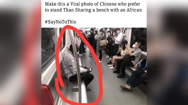 Warga Kulit Hitam Afrika Didiskriminasi di China karena Virus Corona
