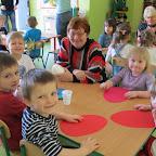 Wielkanocne ozdoby robione prze Seniorki i przedszkolaków