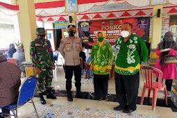 Kodim 0819 Pasuruan Koramil 18/Pandaan Dampingi Kegiatan Vaksin Serentak di Tiga Desa Kecamatan Pandaan