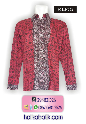 KLK5 Model Baju Terkini, Desain Baju Batik Modern, Toko Baju Murah Online, KLK5