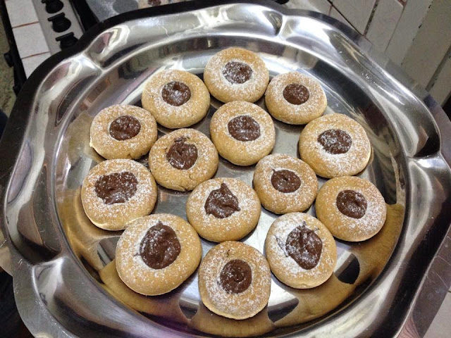 biscotti philadelphia senza burro nutella ricetta blog cucina giallo zafferano a pummarola 'ncoppa