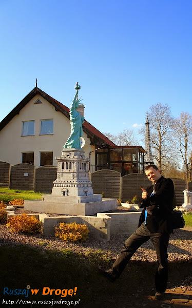 Kaszubski Park Miniatur Strysza Buda - Statua Wolności
