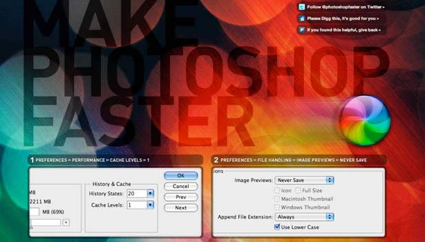 photoshop Make Photoshop Faster