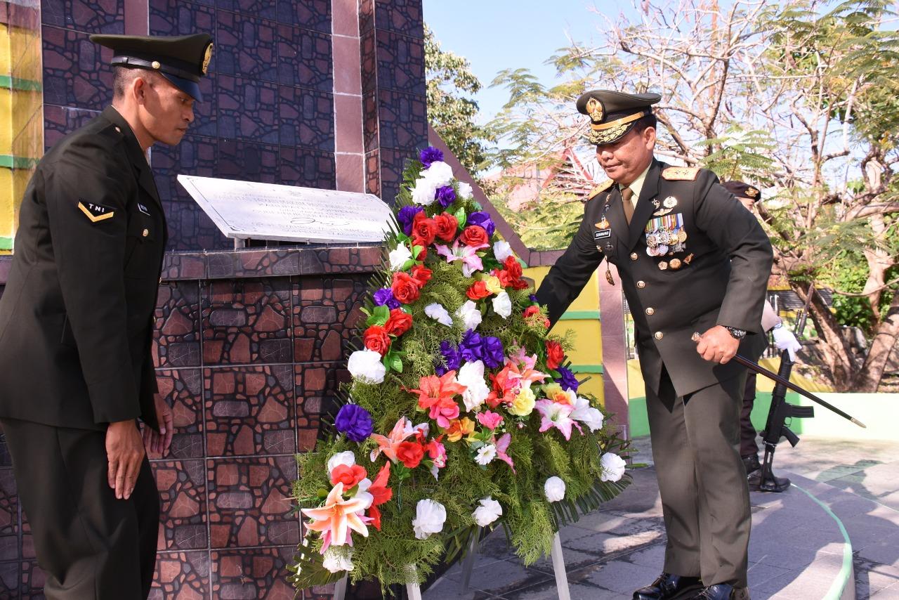 Pangdam XIV/Hsn Pimpin Ziarah Nasional di Soppeng Sekaligus Tinjau Lokasi TMMD