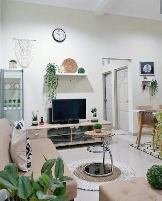 Interior Ruang keluarga kekinian terbaru
