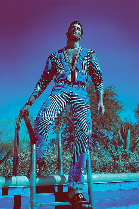Ryan Barrett @ Q by Mert & Marus for Versace S/S 2012.