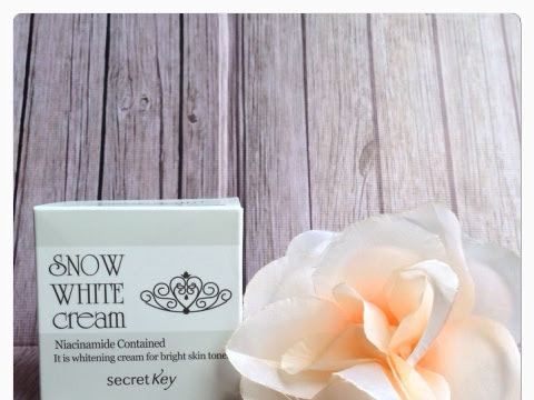 [Review] Snow White Cream by Secret Key